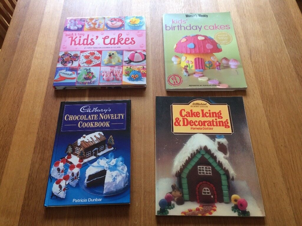 Childrens Birthday Cake And Icing And Decorating Cake Books In