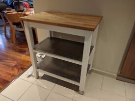 Kitchen Trolley / shelf and chopping block