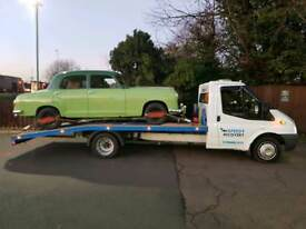 Breakdown and recovery, Car transportation, Norwich, Norfolk, Classic car transportation