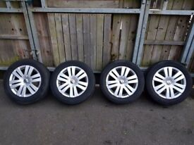 VW ALLOY WHEELS 215. 55. 16