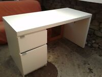 Ikea Nail bar / Desk For Sale - (Little bit of damage)