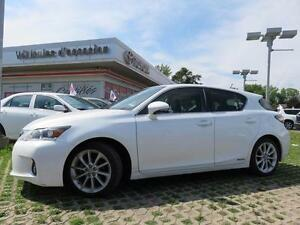 2013 Lexus CT 200h TOURING HEATED SEATS, BLUETOOTH, SUNROOF