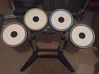 Rock Band Xbox 360 Drum Kit + Extras