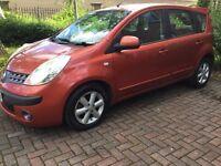 2007 Nissan Note Diesel,10 months Mot Great in Fuel,2 Keys,Full history