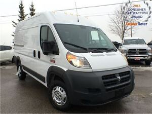 2016 Ram ProMaster 2500 High Roof*136wheelbase*u connect handsfr