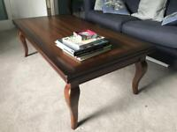 2 table set - Coffee table ( flips open to double size) and Side table - American Walnut
