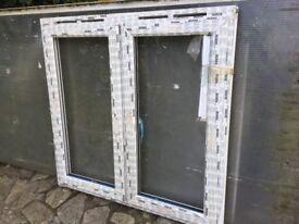 New unused UPVC window 1200mm x 1170mm no glass