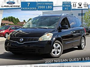 2007 Nissan Quest 3.5 S**7 PASSAGERS*CRUISE *A/C**