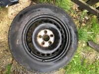Vw t5 steel wheels 5x120 x3