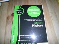 HISTORY NATIONAL 5 past papers with answers book