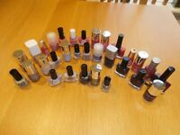 Job Lot Nailvarnishes 31 - £10 Nails Inc, Models Own, Ciate