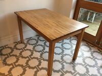 IKEA Bokudden solid wood dining table