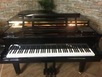 FEURICH 179 BLACK GRAND PIANO – DYNAMIC II