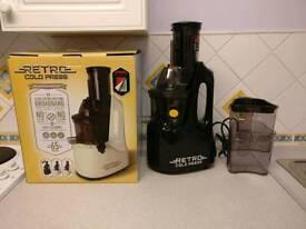 Retro cold juicer