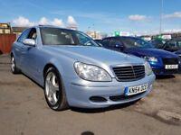Mercedes-Benz S Class 3.2 S320 CDI 4dr Sat-Nav++Leather++ £1,795 2004 (54 reg), Saloon