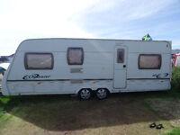 Lunar Quasar 615 2005, 5 berth, (2005) Touring Caravan for sale in Suffolk