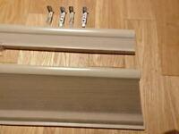 Ikea Hoppvals Cellular blinds in beige 100cm x 155cm