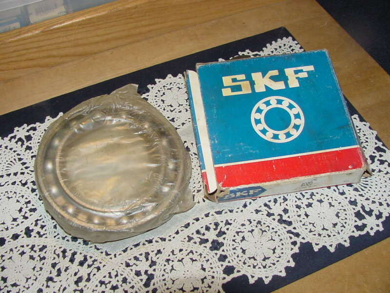 SKF Bearing 6020 Radial/Deep Groove Bore, 100 mm ID, 150 mm OD, 24mm Wide NEW!