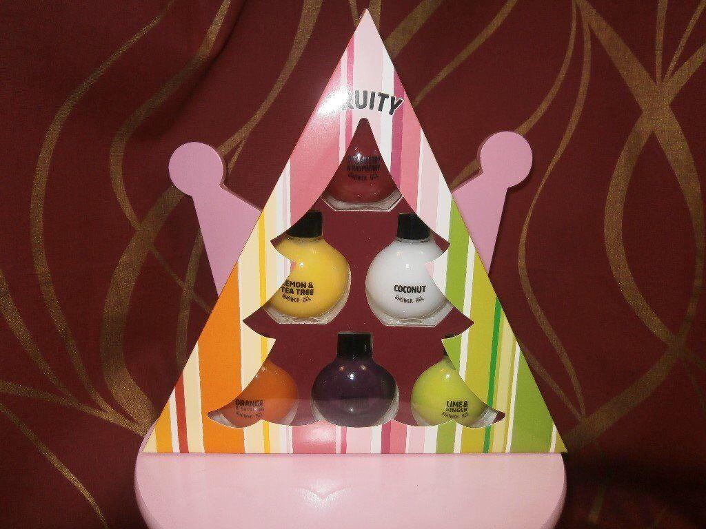 fruity shower gel gift set