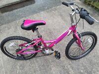 Girls 20 inch bike bentini montare