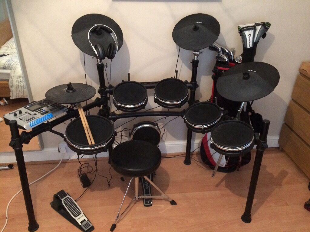 alesis dm10 mesh head complete drum kit in ely cardiff gumtree