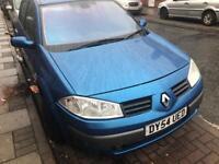 Cheap car Renault megane 2004