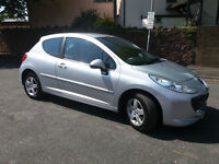 2008(08)PEUGEOT 207 1.4 SPORT MET SILVER,LOW MILES,PLEASE READ AD!!