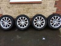 set of 4x Honda Civic wheels and tyres