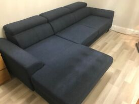 L-shaped sofa bed for sale