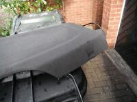 VAUXHALL CORSA , 54 REG , PARCEL SHELF ,GREY, WITH STRAPS,NICE COND £15,