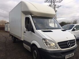 Mercedes 2009 Sprinter LWB Luton 14ft with tail lift