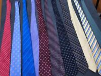 10 mens ties! Mix of colours / patterns, great deal