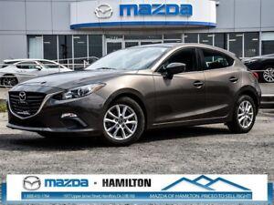 2015 Mazda MAZDA3 SPORT GS, BLUETOOTH, NAV-READY, ACC-FREE, 0.65