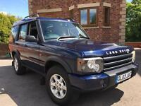 Land Rover discovery td5 gs model 2.5 turbo diesel 4x4 manual 7 seater with sat nav