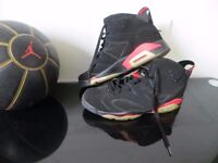 Nike Air Jordan Retro 6 Infrared Slam 2014, size 11 UK