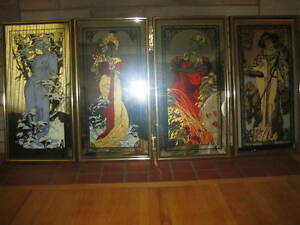 Exquisite One-of-a-Kind Decorative Mirrors of Seasons