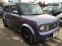 Nissan Cubic 1.4 5dr FREE WARRANTY, NEW MOT, HPI CLEAR,FINANCE AVAILABLE, P/X WELCOME