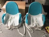 2x Fisher Price baby/infant booster dining seats
