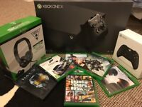 Microsoft Xbox One X (8 Game Bundle & Much More!!)