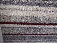 New carpet offset roll