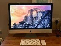 Apple iMac 27 inch 5k Retina (Late 2015) intel i5