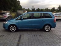 2006 VAUXHALL ZAFIRA AUTOMATIC 1 OWNER LOW 68000 MILES 7 SEATER MPV SAME GALAXY/SHARAN/PREVIA