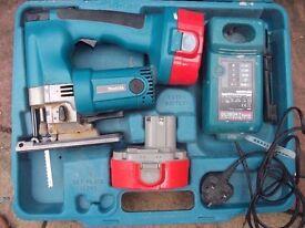 makita 18v jigsaw and circular saw