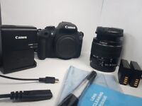 Canon 1300D DSLR Camera | Like New | Boxed with 18 - 55 lens and accessories | £275 O.N.O