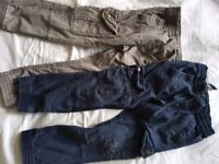 John Lewis cargo trousers age 5/6