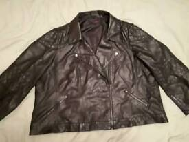SimplyBe Leather jacket