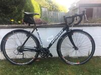 Specialised Tricross road, touring, winter bike. 56cms, Hope / stan's wheelset.