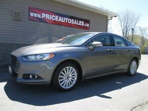 2014 Ford Fusion SE-AWD-HEATED LEATHER-SUNROOF-NAVIGATION!!!