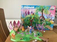Playmobil Fairy garden