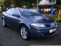 Renault Megane 1.6 VVT Dynamique 2007**CONVERTIBLE**LEATHER SEATS**6 DISC MULTI-CHANGER**LONG MOT